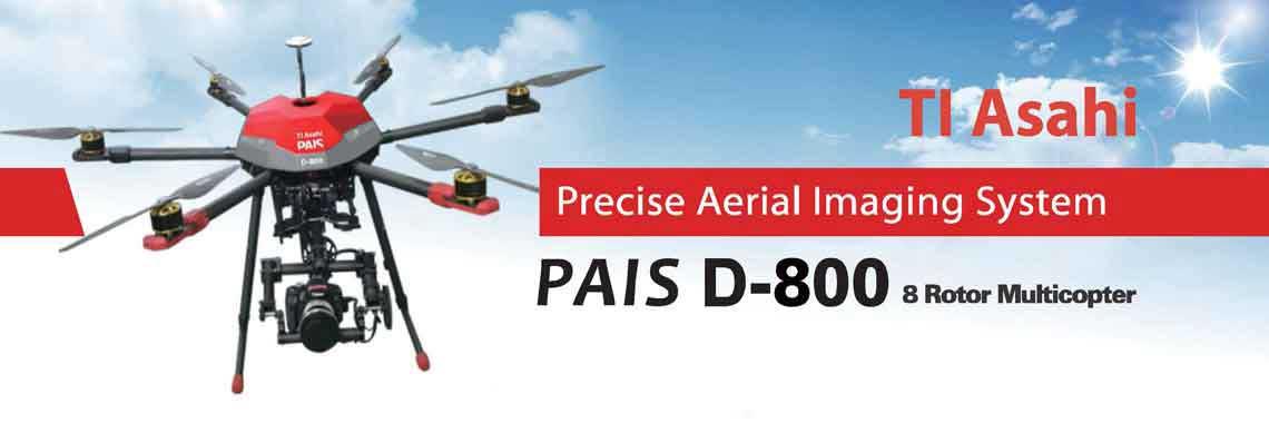 پهپاد های حرفه ای پنتاکس ژاپن مدل D-800